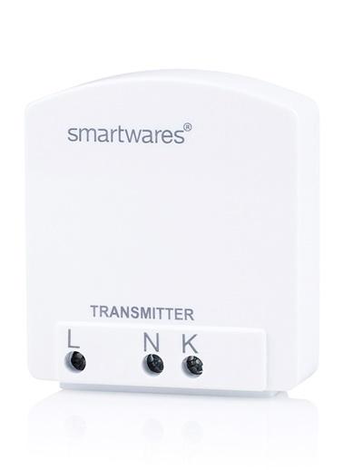 Smartwares Akıllı Ev İç Mekan 1 Kanallı Yerleştirmeli Priz-Sinyal Alıcı Renkli